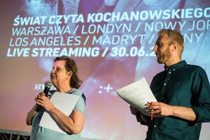 Świat czyta Kochanowskiego, fot. Bartek Syta